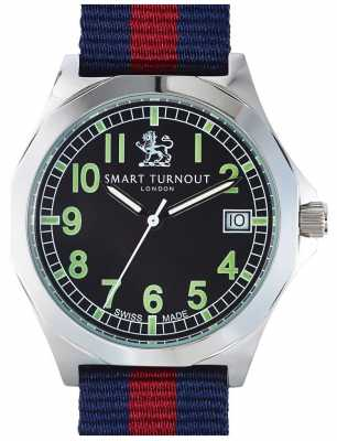 Smart Turnout Military Watch With Hd Strap STA/56/W