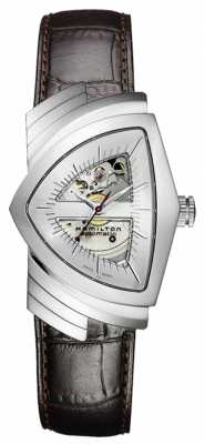 Hamilton Mens Ventura Automatic Leather H24515551