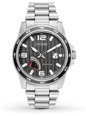 Citizen Mens Eco-Drive Power Reserve Steel AW7030-57E