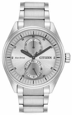 Citizen Mens Eco-Drive Paradex Silver BU3010-51H