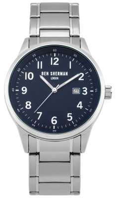 Ben Sherman Mens Simple Metal WB065USM