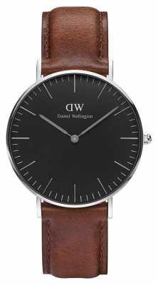 Daniel Wellington Unisex Classic St Mawes 36mm Black DW00100142