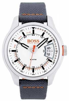 Hugo Boss Orange Mens Hong Kong Grey Strap 1550015