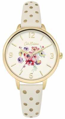 Cath Kidston Womans Cream Floral Polka Dot CKL004WG