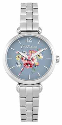 Cath Kidston Womans Metal Strap Blue CKL015SM