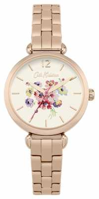 Cath Kidston Womans Rose Gold Metal Strap CKL015RGM