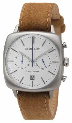 Briston Mens Clubmaster Vintage Steel Beige 16140.S.V.2.LFCA