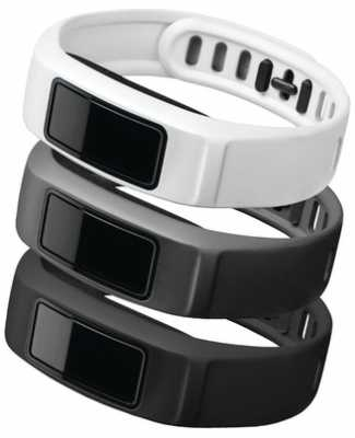 Garmin Black, Slate, White Vivofit 2 Bands L 010-12336-00