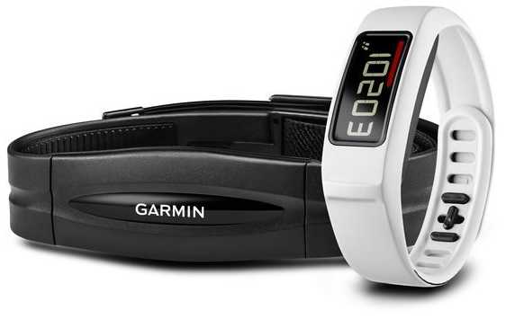 Garmin Unisex Vivofit 2 Activity Tracker HR Monitor White 010-01407-31