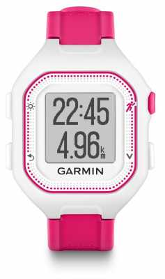 Garmin Unisex Forerunner 25 Pink And White 010-01353-31