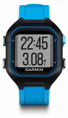 Garmin Unisex Forerunner 25 Blue and Black 010-01353-11