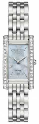 Citizen Ladies Citizen Silhouette Crystal Eco-Drive Stainless Steel EX1470-60D