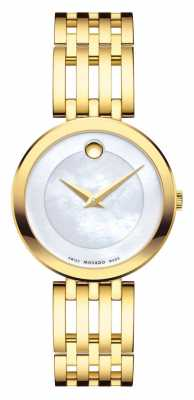 Movado Women's Esperanza Watch Yellow Gold PVD 0607054