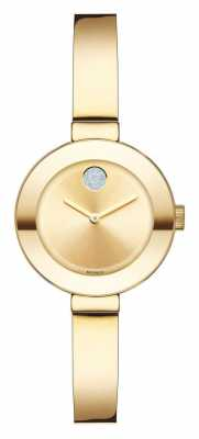 Movado bold Small Yellow Gold Ion-plated K1 Crystal 3600285
