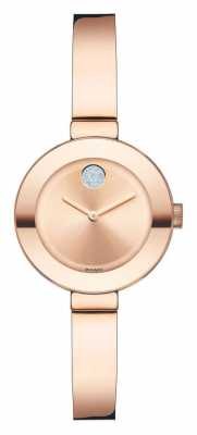 Movado bold Small Rose Gold Ion-plated K1 Crystal 3600286