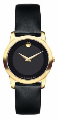 Movado Women's Museum Classic Yellow Gold PVD-finished 0606877