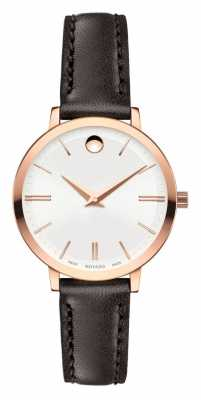 Movado Women's Ultra Slim Rose Gold PVD-finished 0607096