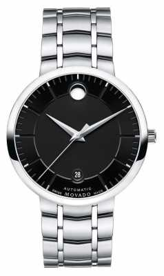 Movado Men's 1881 Automatic Stainless Steel Exhibition Back 0606914