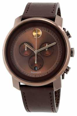 Movado bold Large bronze Ion-plated K1 Crystal 3600420