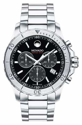 Movado Men's Series 800 Chronograph Performance Steel™  Sandblasted 2600110