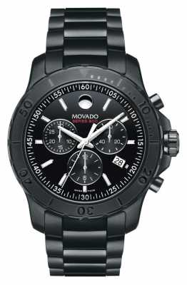 Movado Men's Series 800 Chronograph Performance Steel™  Black 2600119