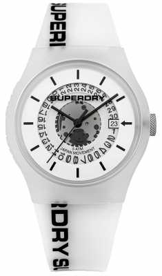 Superdry Mens Urban Semi Opaque White SYG168W