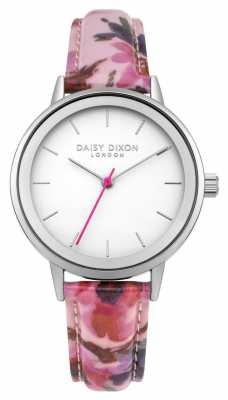 Daisy Dixon Womans Jasmine Pink Floral Strap DD049PS