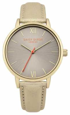 Daisy Dixon Womans Billie Gold Glitter Strap DD007GG