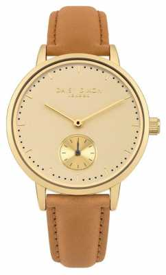 Daisy Dixon Womans Sadie Tan Strap Cream Dial DD048T