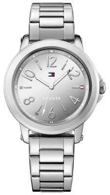 Tommy Hilfiger Womans Stainless Steel Silver Bracelet 1781750
