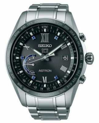 Seiko Mens Astron Limited Edition GPS World Time Edition SSE117J1