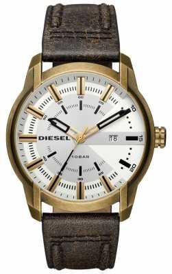 Diesel Mens NSBB Armbar Brown Leather DZ1812