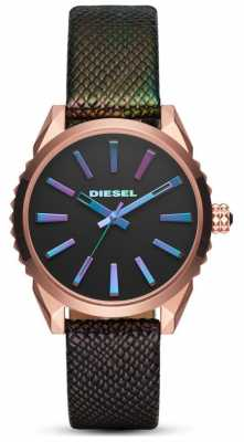 Diesel Womans Nuki Black/Muli-coloured Watch DZ5542
