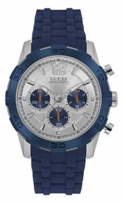 Guess Mens Caliber Sport Chrono Blue W0864G6