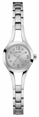 Guess Womans Evie Steel Silver Bracelet W0912L1