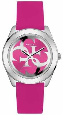 Guess Womens G Twist Pink Dial W0911L2