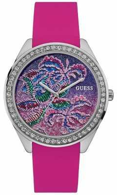 Guess Womens Getaway Pink Strap W0960L1