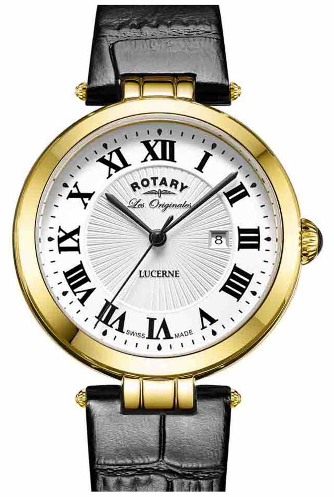 rotary womens lucerne black leather ls90198 01l