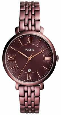 Fossil Womens Jacqueline Plated Stainless Steel ES4100