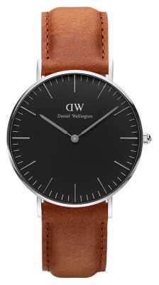 Daniel Wellington Unisex Classic Black Durham 36mm DW00100144