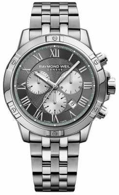 Raymond Weil Mens Grey Chronograph 8560-ST-00606