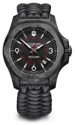 Victorinox Swiss Army INOX Carbon Composite Paracord Bracelet Swiss Movement 241776