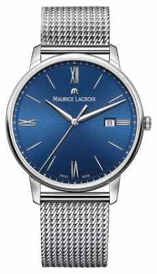 Maurice Lacroix Eliros Mens Stainless Steel Mesh Bracelet EL1118-SS002-410-1