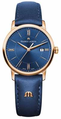 Maurice Lacroix Womans Eliros Blue Leather EL1094-PVP01-411-1