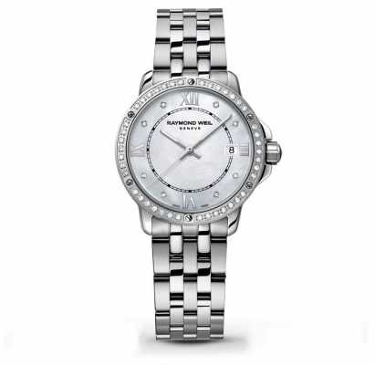 Raymond Weil Womans Tango Two Tone Mother Of Pearl Dial 5391-STS-00995