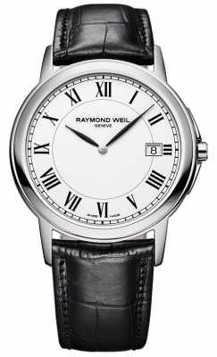 Raymond Weil Mens Tradition Steel White 5466-STC-00300