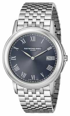 Raymond Weil Mens Tradition Steel Grey 5466-ST-00608