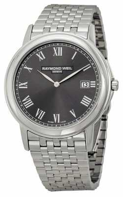 Raymond Weil Mens Tradition Steel Grey 5466-ST-00608