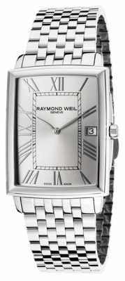 Raymond Weil Mens Tradition Steel Silver 5466-ST-00658