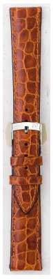 Morellato Strap Only - Liverpool Croc Leather Light Brown 18mm A01U0751376037CR18